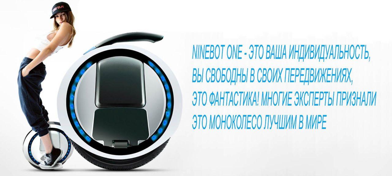 ninebot one индивидуальность